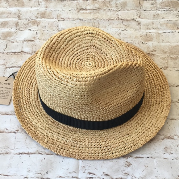 cd78294662ed0 J. Crew The Packable Straw Hat NWT